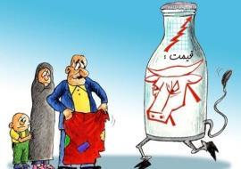 شیر باز هم گران شد! بدون مجوز