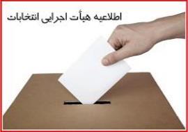 اعلام قطعی نتیجه انتخابات هیأت مدیره و بازرس انجمن حمایت از حقوق مصرف کنندگان تهران